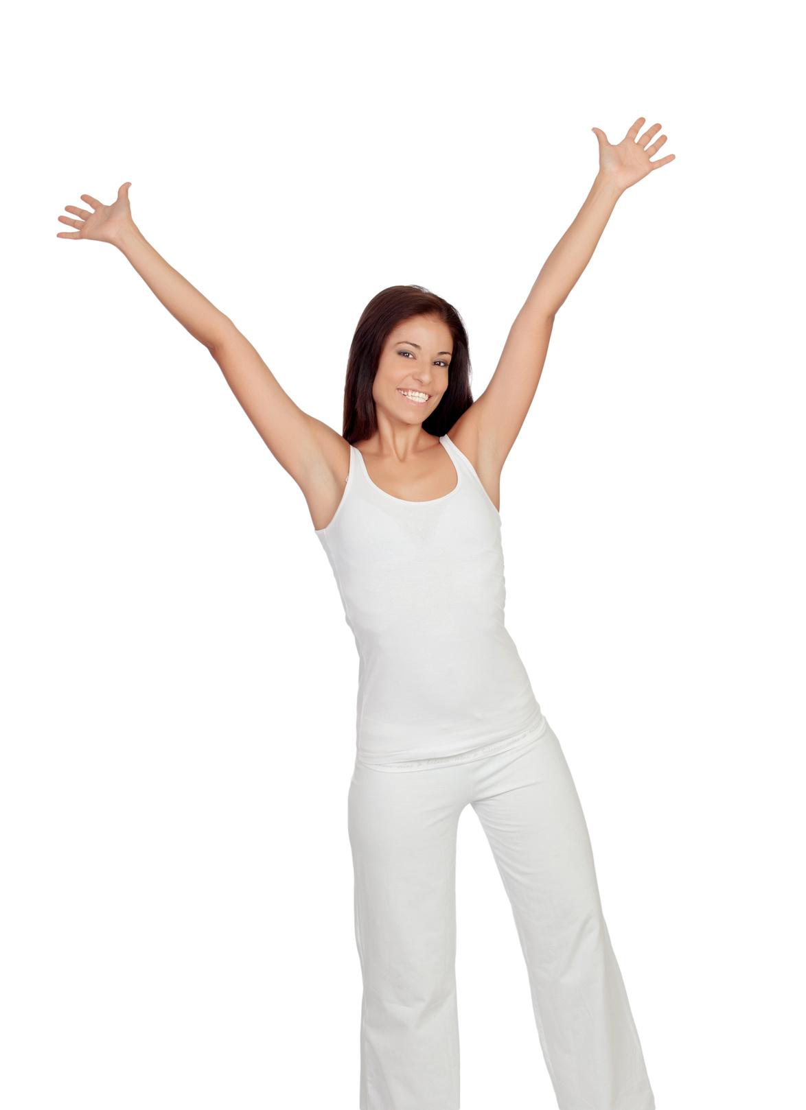 Gesund mit Zeichen Gesundheit beginnt mit genießen