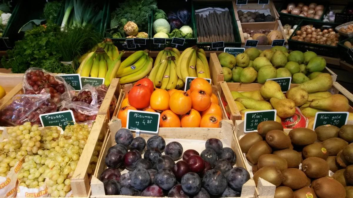 Obst und Früchte abfragen